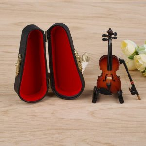 Mini Violino Artesanal