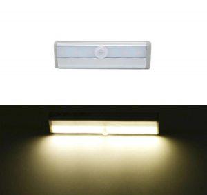 Lâmpada Com Sensor Automático De LED