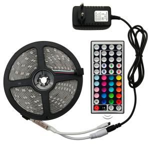 Luz de Led Colorida Flexível + Controle Remoto + Adaptador
