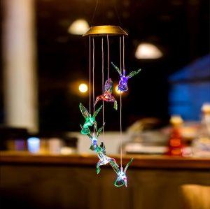 Lâmpada Decorativa De Beija-Flor
