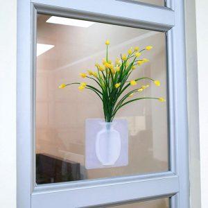 Vaso De Flores Em Silicone