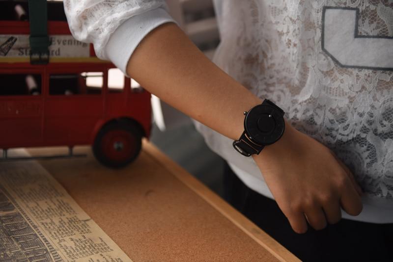 EUTOUR New Style Men Watches Magnetic Ball Show Fashion Wrist Watch Women Nylon Stainless Steel Couple Quartz Wristwatches 2018 (7)