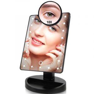 Espelho de Maquiagem com 22 LEDs