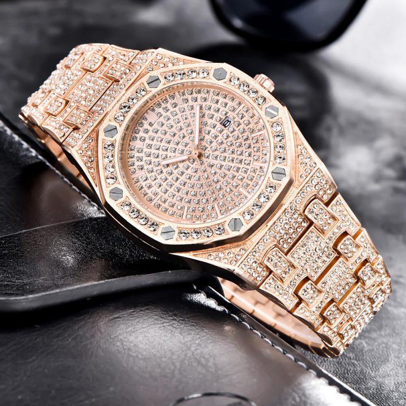 Relógio Quartzo Glamour