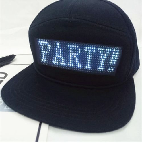 Tommy Lee K. review of LED MESSAGE HAT