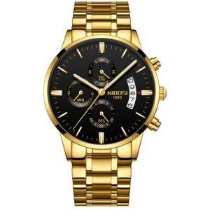 Relógio Nibosi Luxo Blindado Original