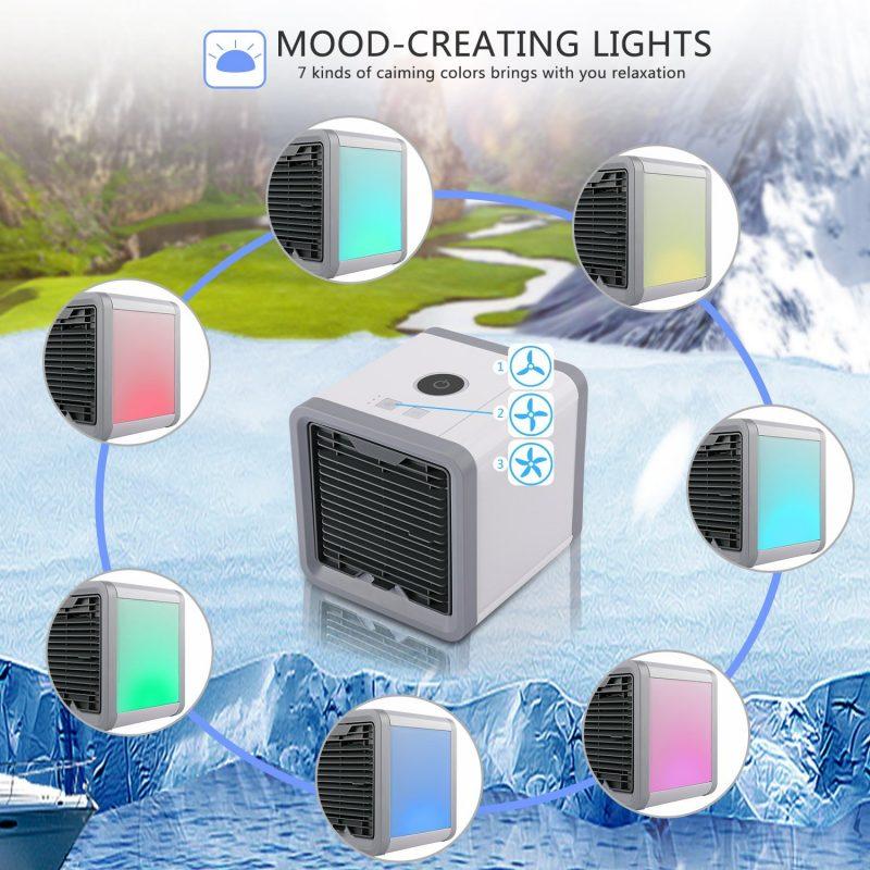 Mini Ar Condicionador Portátil