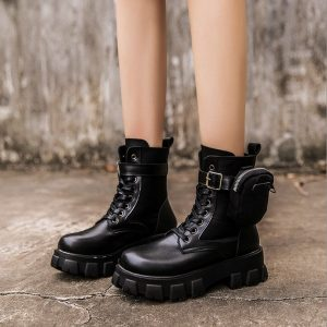 Bota Feminina Militar