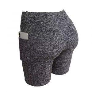 Shorts Feminino Push Up Com Bolso