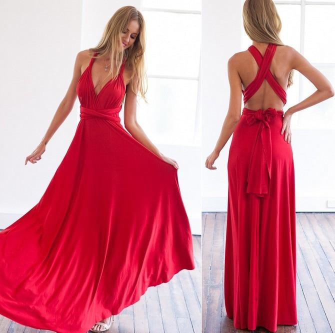 Vestido Longo - Vermelho