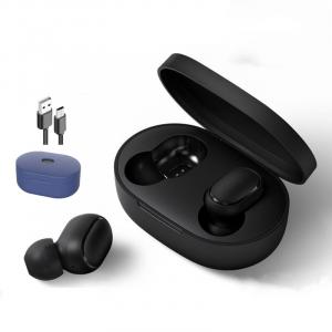 Redmi Xiaomi Airdots S Fones de Ouvido Bluetooth Sem Fio Com Microfone Redução Ruído