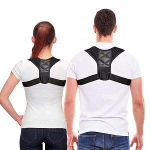 Postura Ideal modelo compacto, cinta corretora de postura, cinta corretora masculina ou feminina, para parte superior das costas