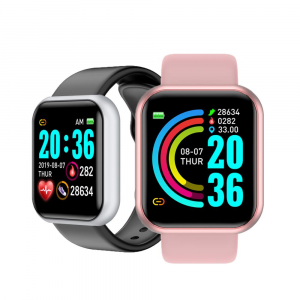 Smartwatch Relógio Inteligente 2021 Á Prova de Água Freqüência Cardíaca Para Andriod IOS
