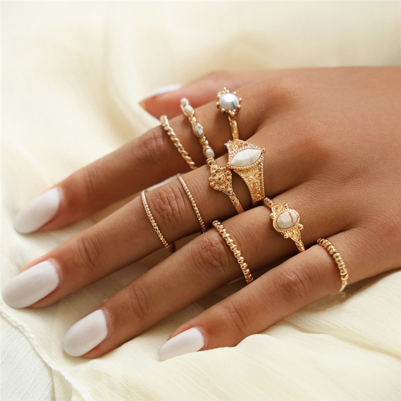Kit de Anéis Feminino