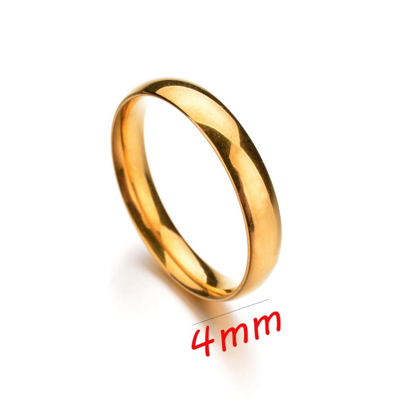 Aliança de Casamento Aço Inoxidável