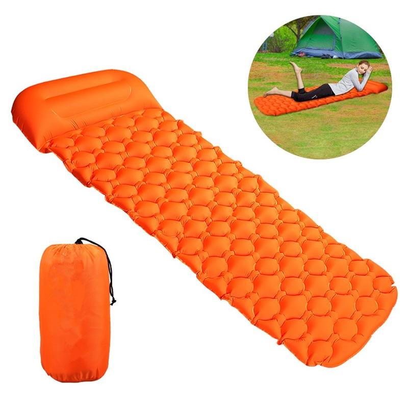 Colchão Inflável Para Acampamento