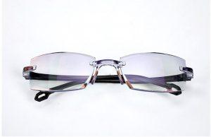 Óculos Sem Aro De Leitura Longe Perto Bifocal Presbiopia
