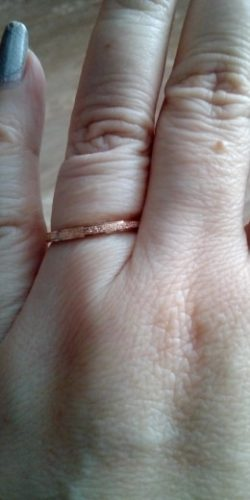 Anél Feminino Ouro Rosa photo review
