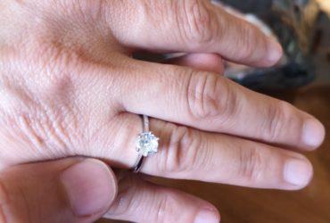 Anel de Diamante Prata photo review