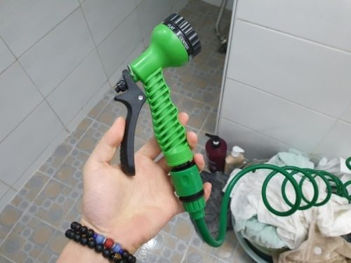 Pistola De água Ajustável Sete Padrões photo review