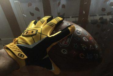 Luva Esportiva Futebol Americano Ultra Adesiva photo review