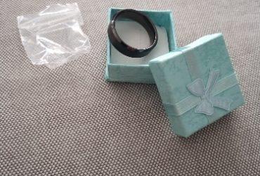Anel Preto Cerâmica Escovado Comfort photo review