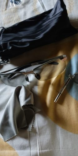 Óculos militar para pescadores e motoristas óculos de sol foto cromáticos polarizado, óculos de sol dia visão noturna MaxVision photo review