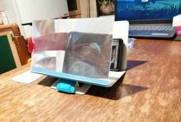 Suporte ampliadora lente de aumento tela celular, Amplificador Imagem Tela Celular Ampliada Lupa 3D, CineMax Tela Power 3.0 photo review