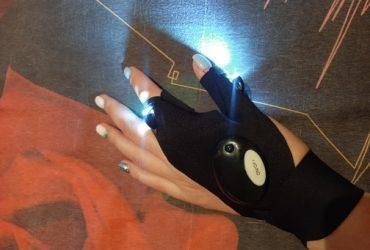 Luvas de pesca à prova d'água com lanterna de led, Luvas para ciclismo, luva para concerto photo review