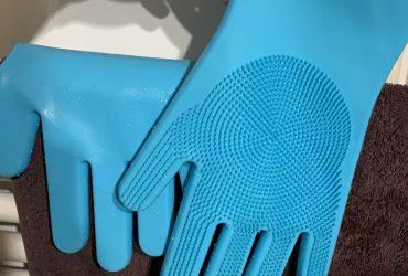 Luvas de limpeza de silicone multifunções Luva Ultra Clean photo review